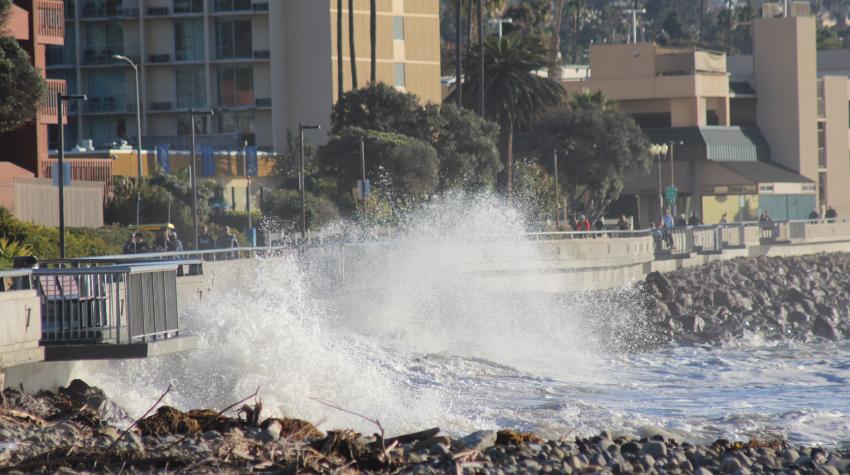 photo of King Tide at Ventura Promenade