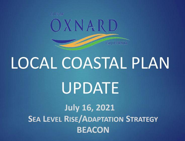 City of Oxnard SLR Presentation